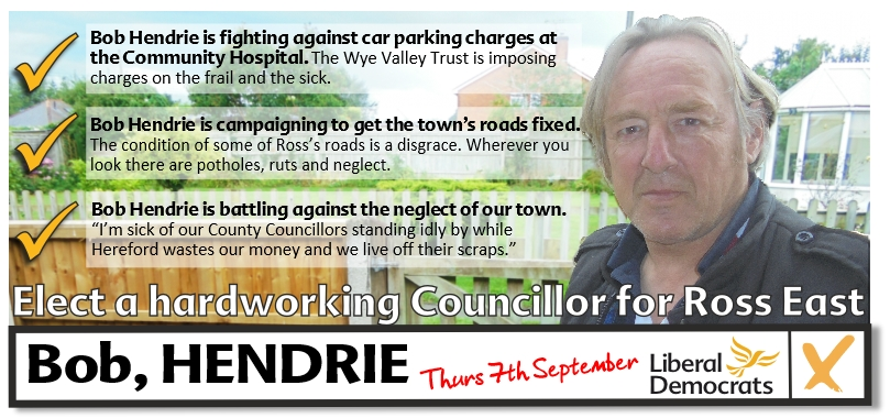 Ross-on-Wye East By-election - 7th September 2017