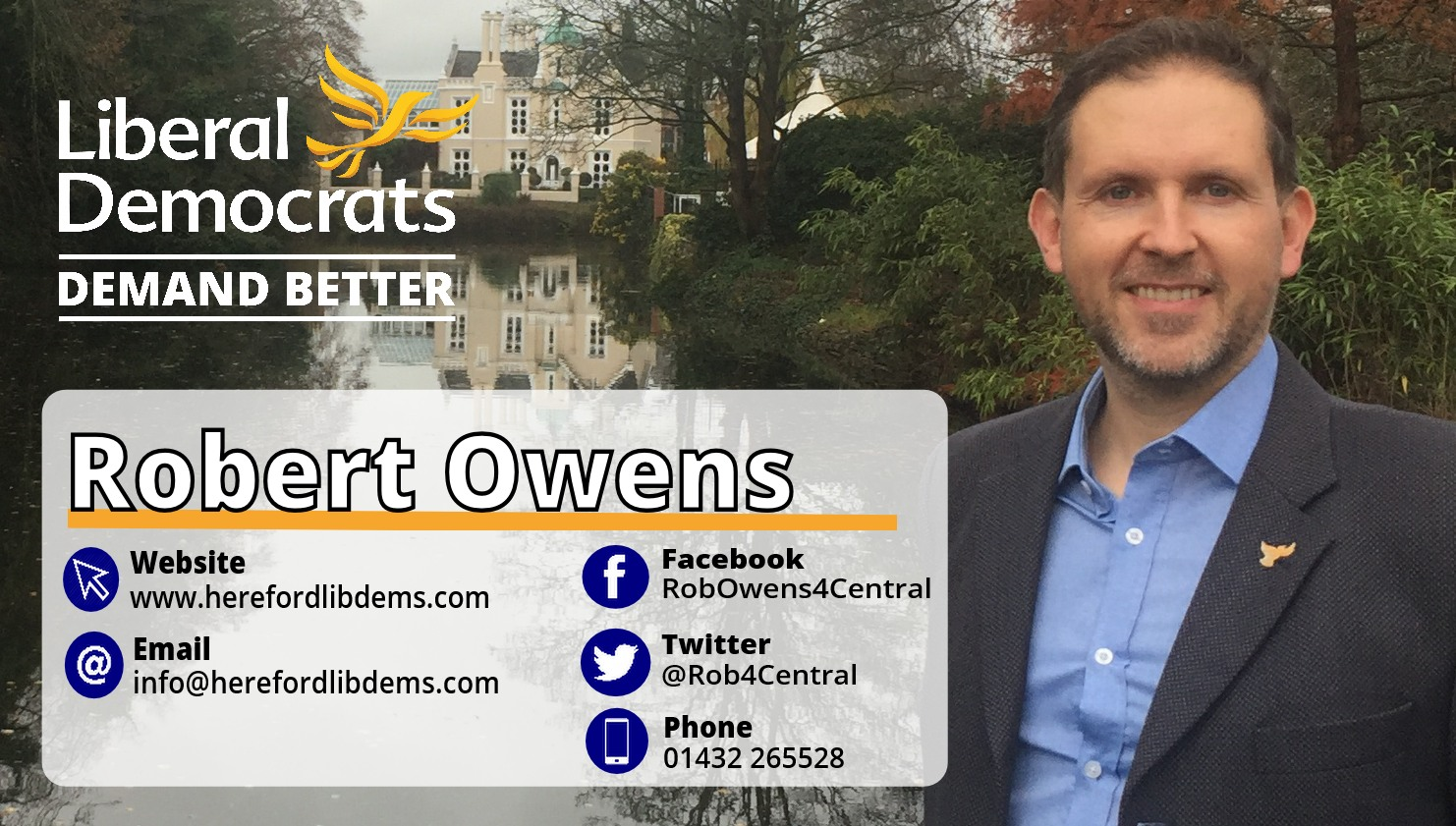 Local Campaigner Rob Owens - Listening to you