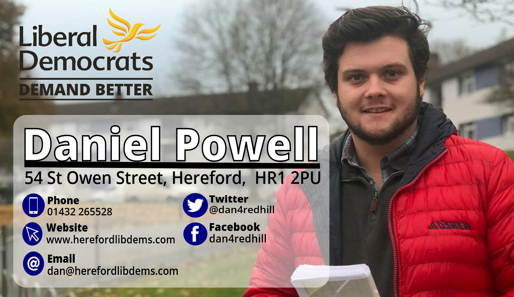 Daniel Powell - Fighting for Redhill