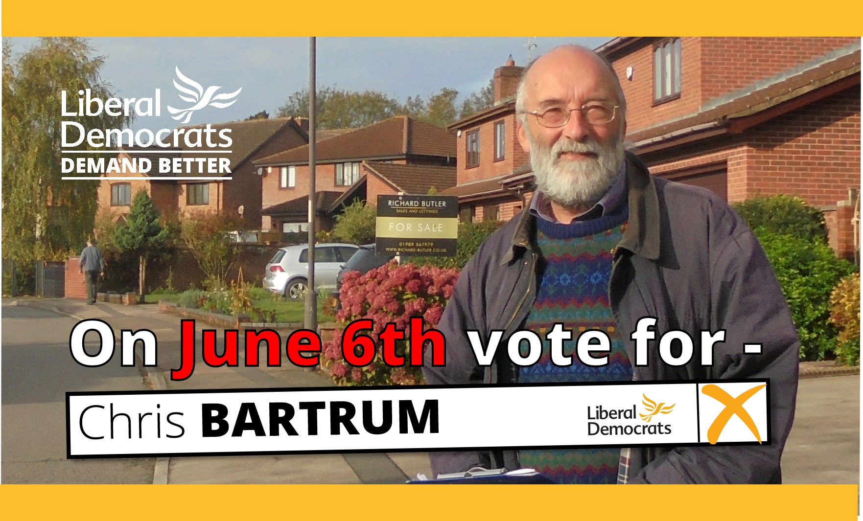 Chris Bartrum - Ross North Election on June 6th