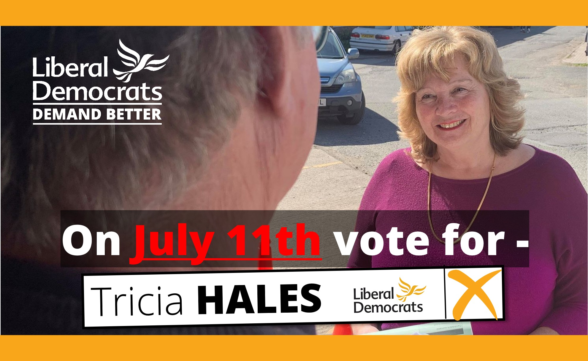 Tricia Hales - Whitecross By-election July 11th