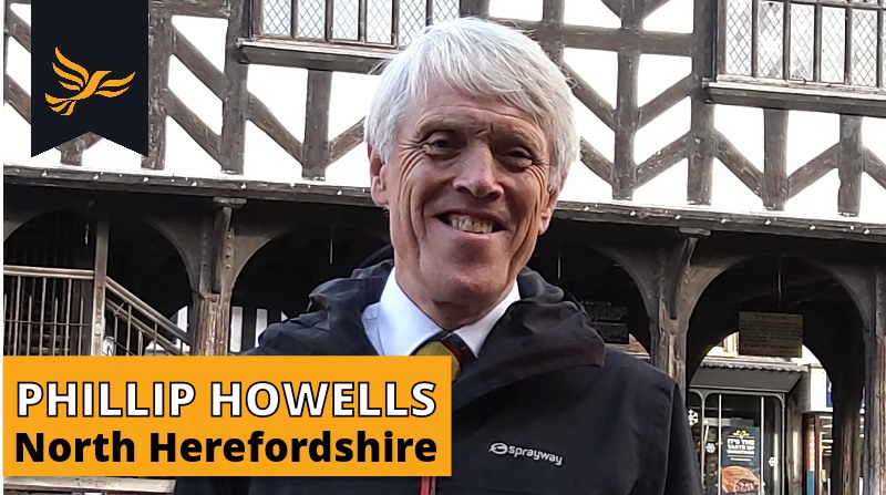 North Herefordshire Parliamentary Candidate - Phillip Howells
