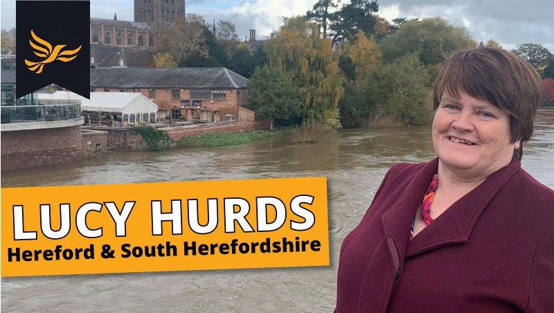 Hereford & South Herefordshire Parliamentary Candidate - Lucy Hurds