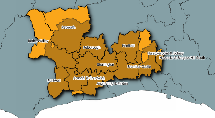 Arundel and South Downs Divisions
