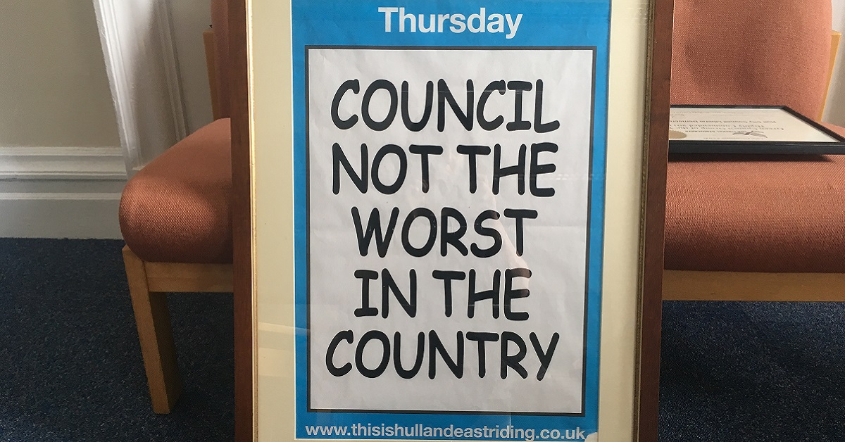 The Most Improved Council in the UK