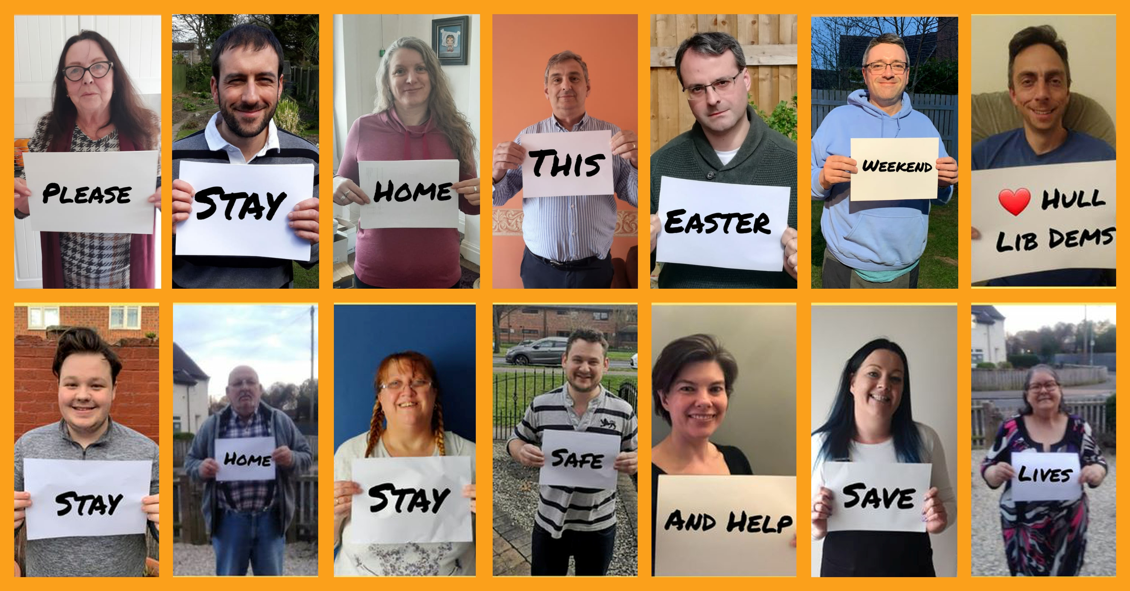 Hull Lib Dems say stay home - and stay safe - this Easter