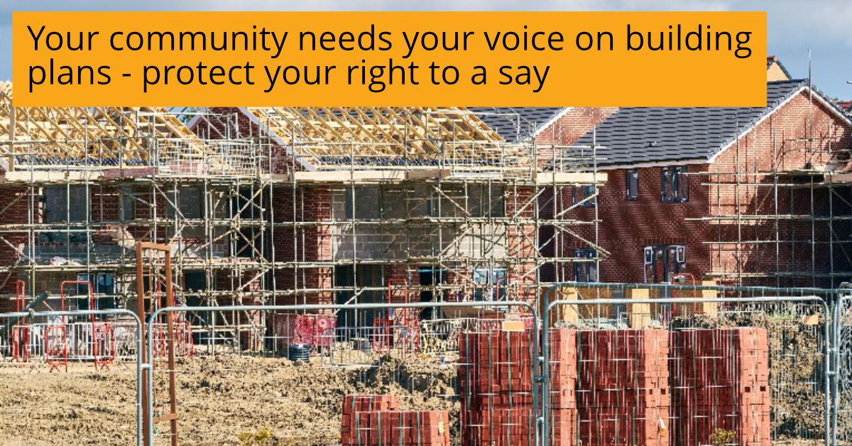 Protect your rights against property developers