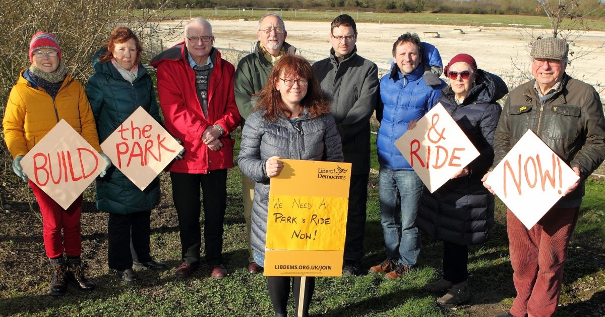 Beverley Park & Ride - centrepiece of Lib Dem alternative budget proposals