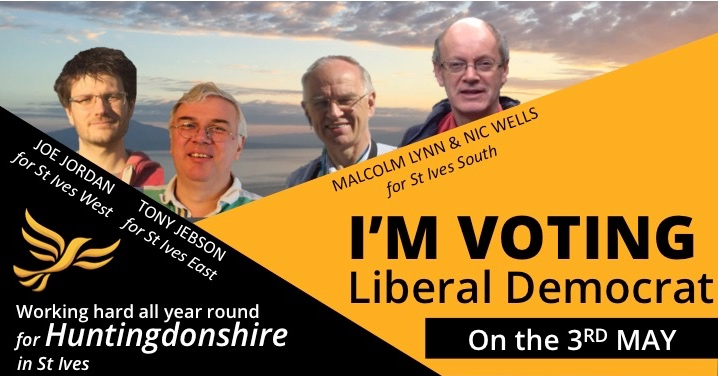 Your Liberal Democrat Candidates for St Ives!