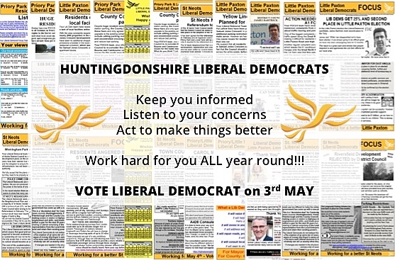 Liberal Democrats - working hard for you ALL year round