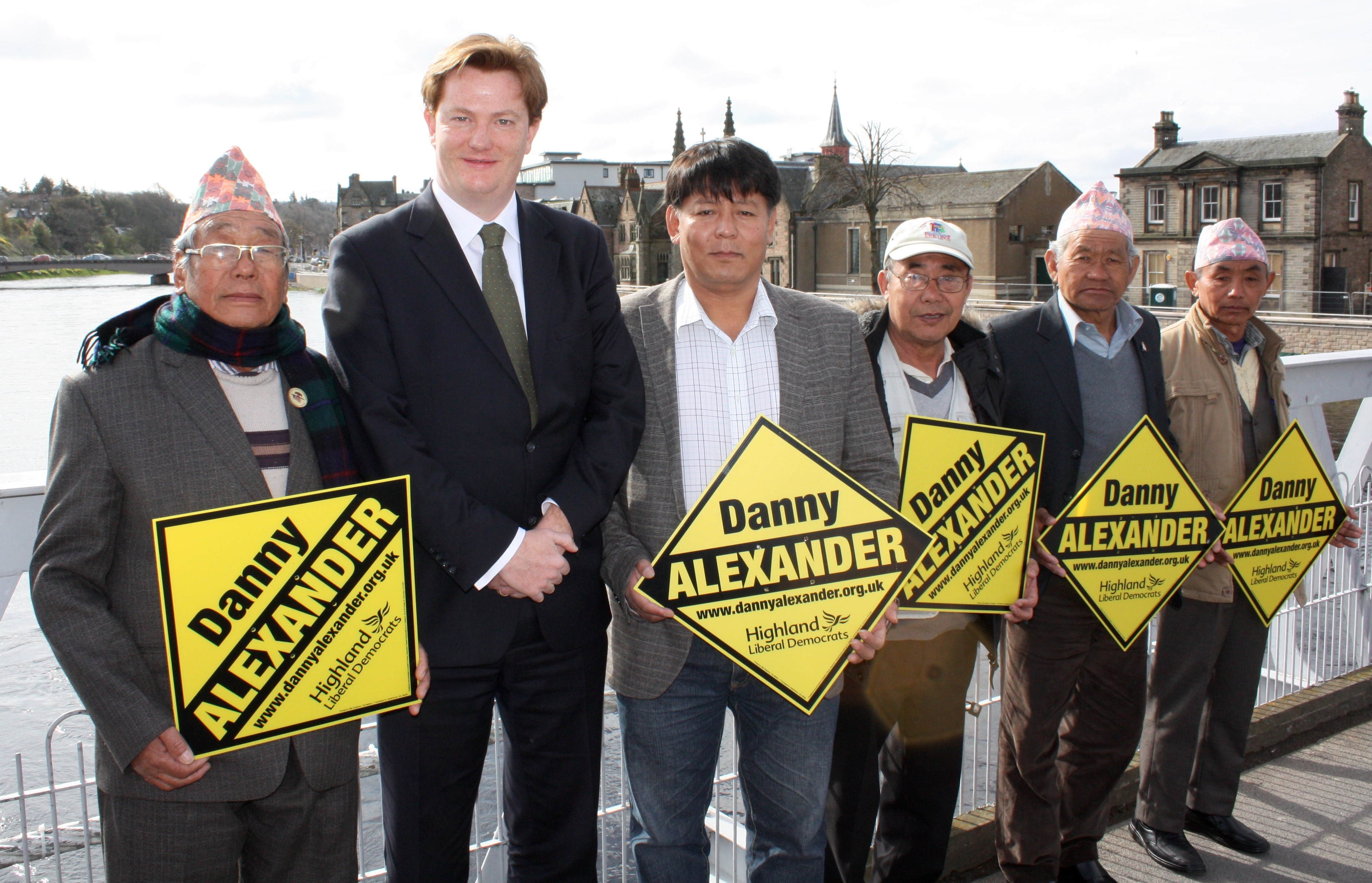 DANNY GETS BACKING OF GURKHAS AFTER ROLE IN JUSTICE CAMPAIGN