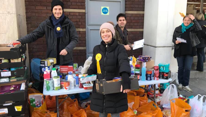 Islington Lib Dem support local Foodbank and The Toy Project over christmas