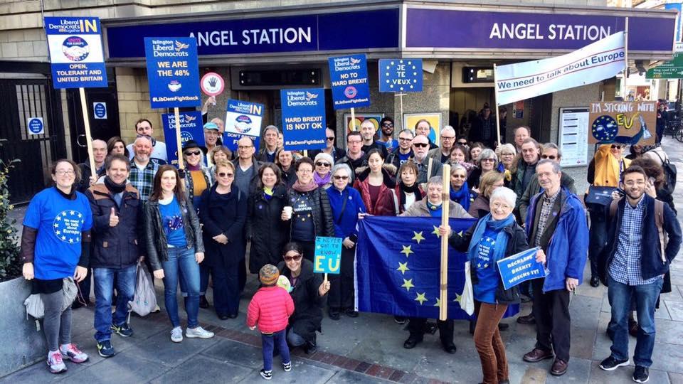 Group of pro-EU Islington voters