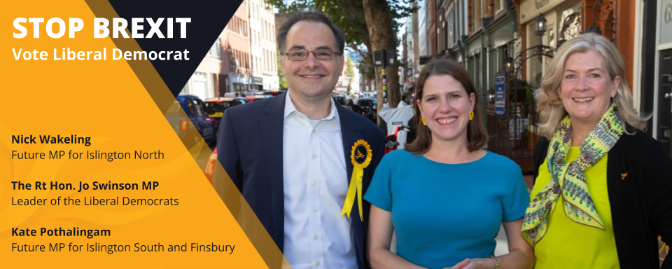 Local candidates with Jo Swinson