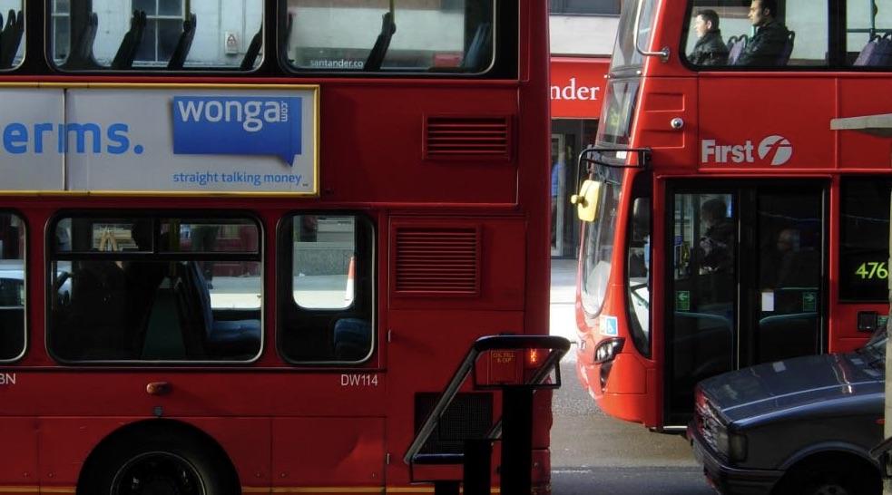 Traffic on High Street, Islington