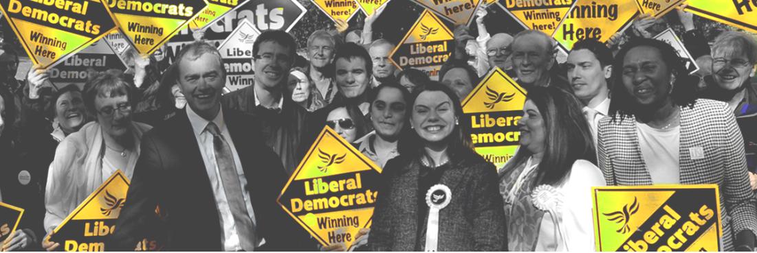 Voters flock to LibDems