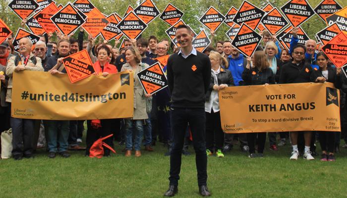 Keith Angus Rally Speech 2017