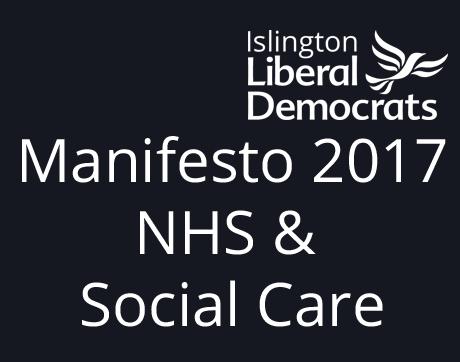 Manifesto 2017 NHS & Social Care