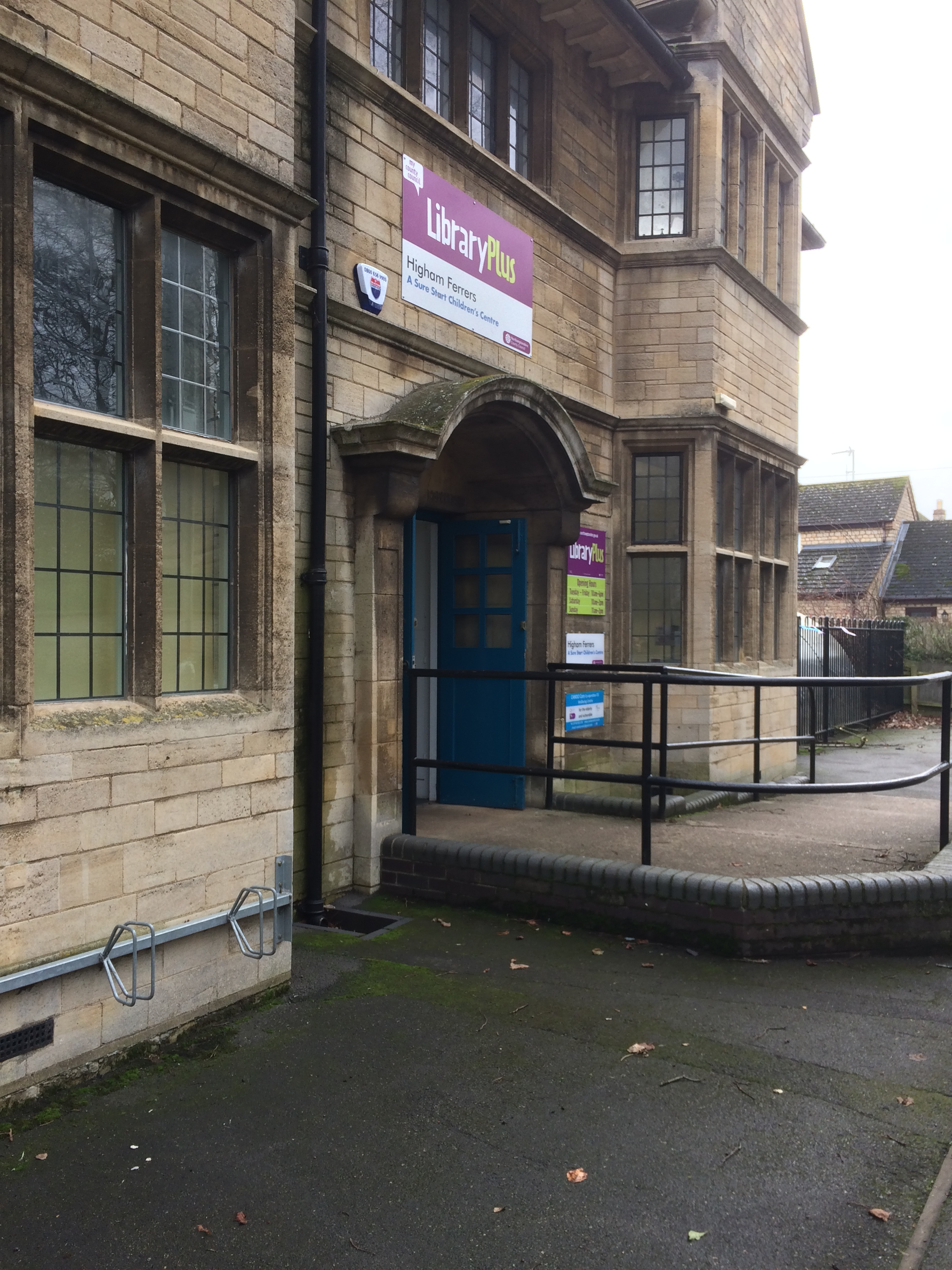 Stop the Tories selling Higham Ferrers Library.