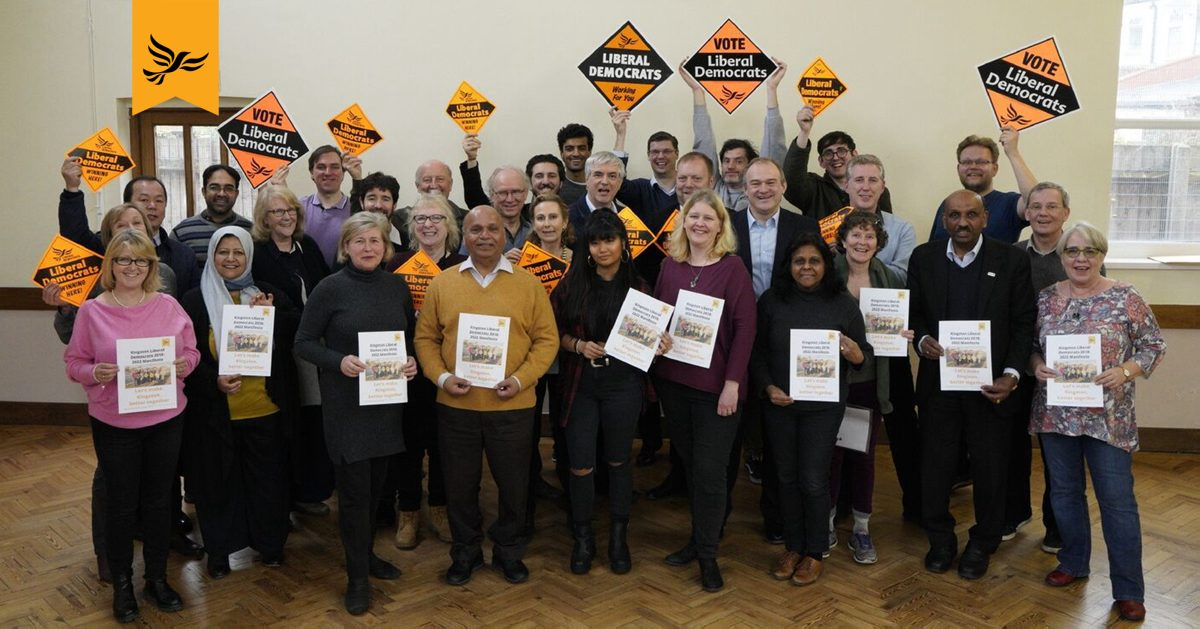 Kingston Liberal Democrats 2018 Manifesto