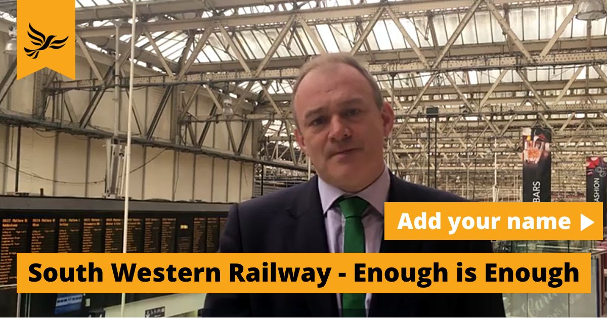 South Western Railway and Network Rail - Enough is Enough