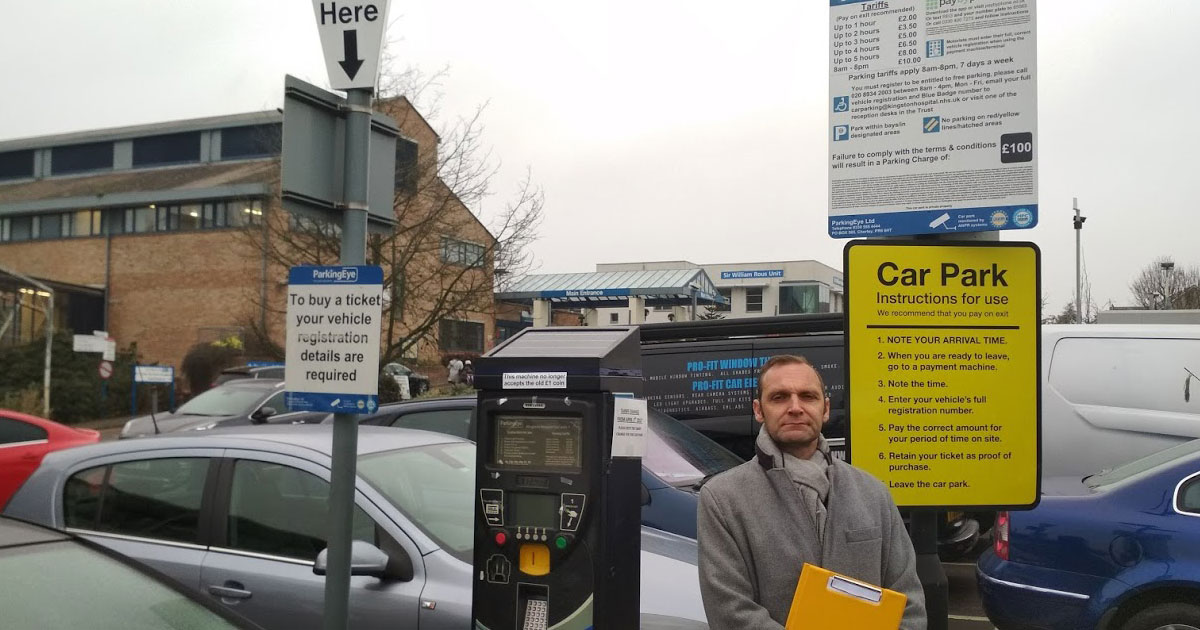 Temporary victory as Kingston Hospital puts brakes on disabled parking charges