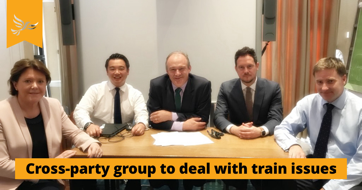Cross-party group established to deal with train issues