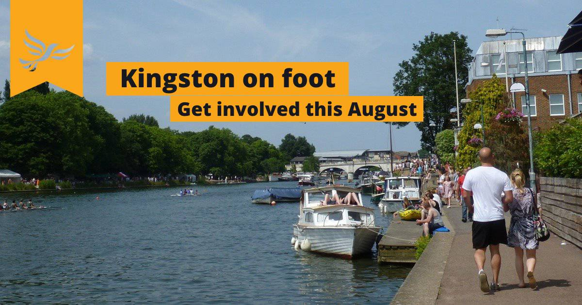 Explore Kingston on foot this August