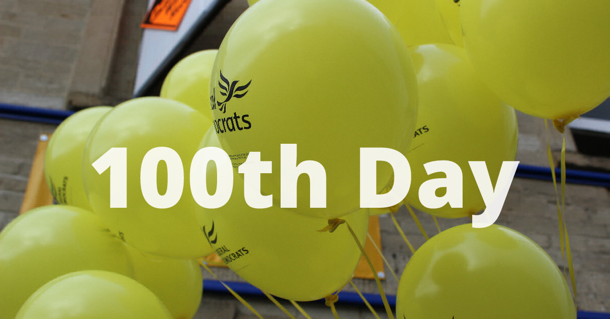 The Liberal Democrat Council in Kingston - The First 100 Days, by Olly Wehring - Councillor for Norbiton