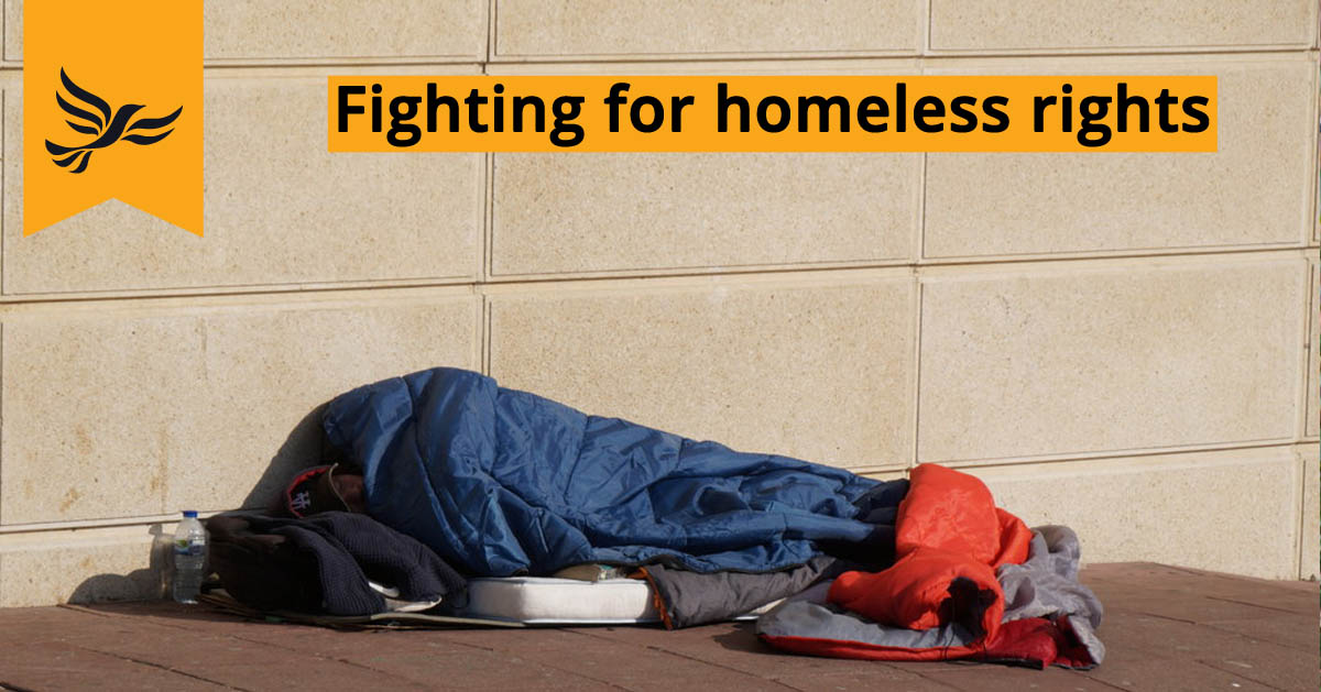 Ed continues fight for terminally ill homeless