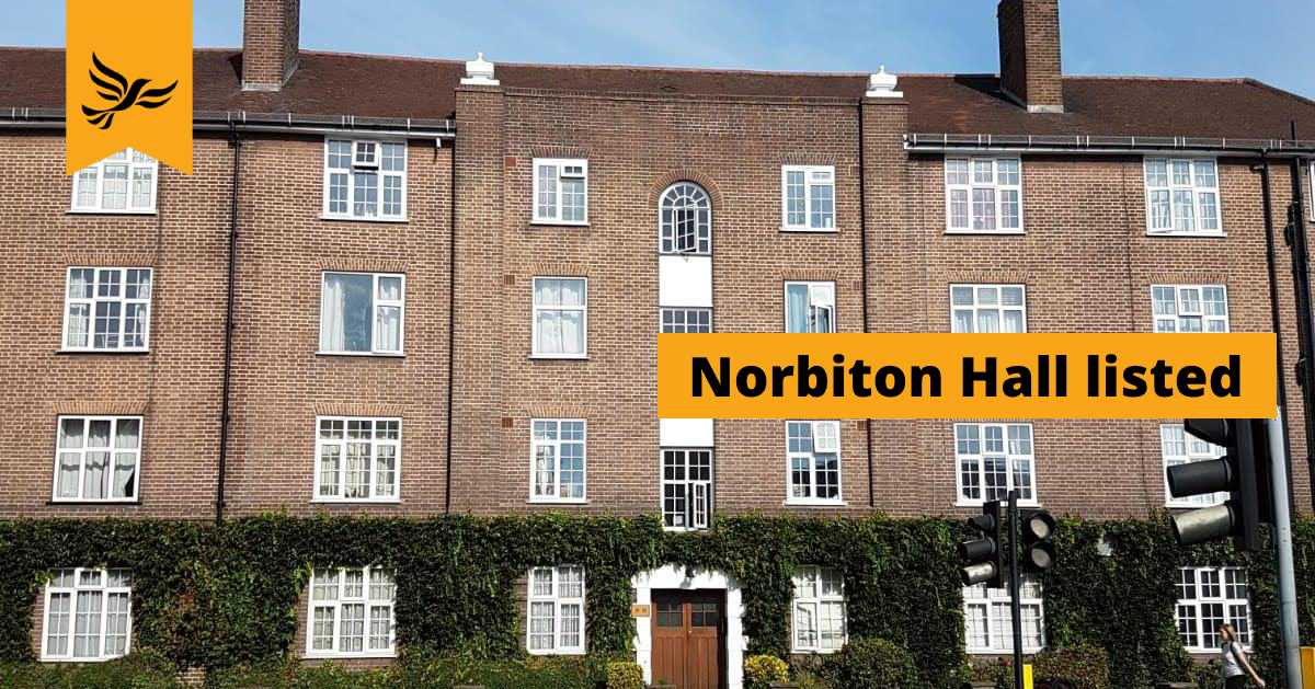 Norbiton Hall – A locally-listed asset for Kingston