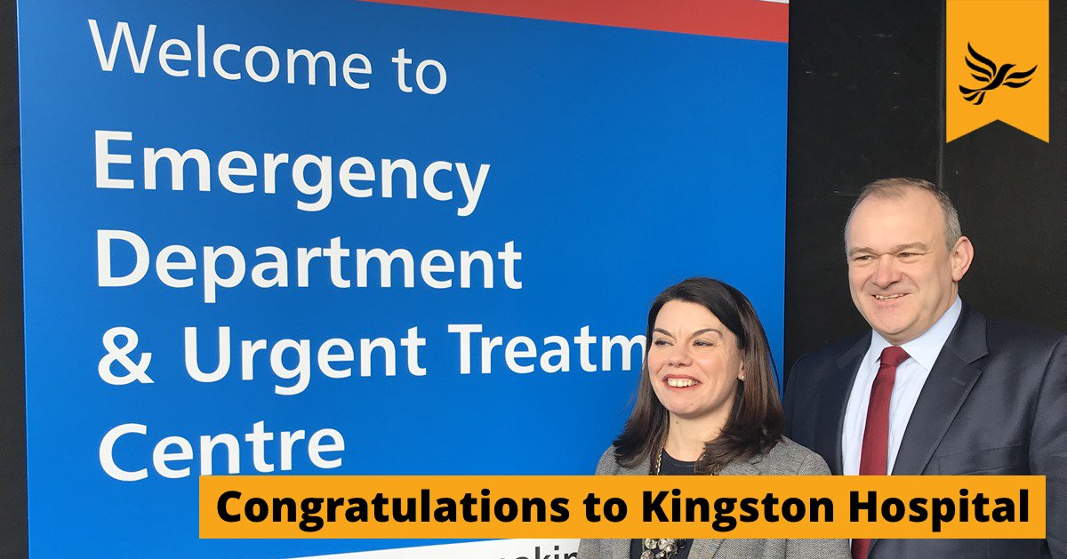 Congratulations to Kingston Hospital