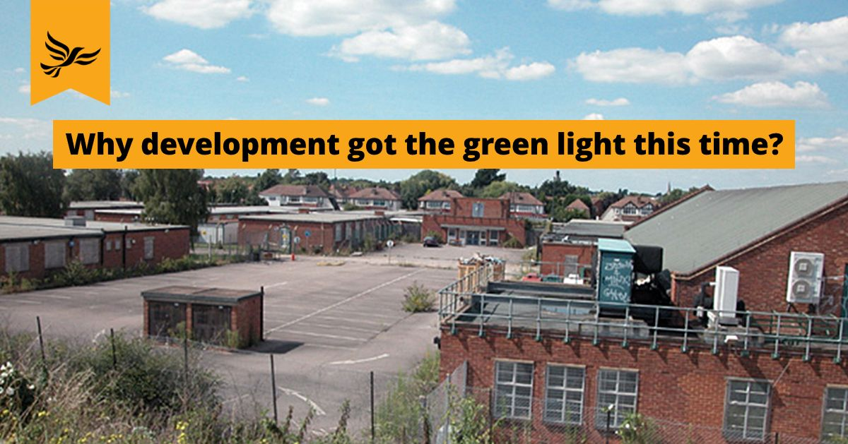 Why has development on Toby Jug site get the green light this time?