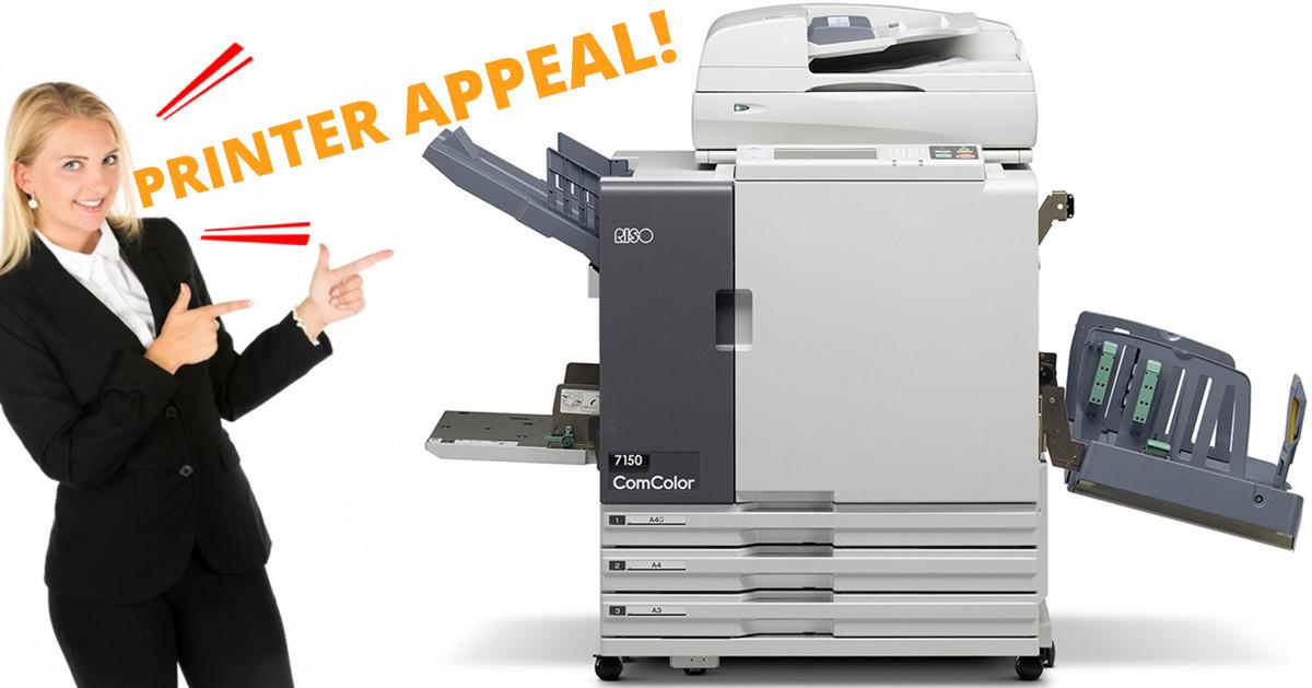 Printer Appeal