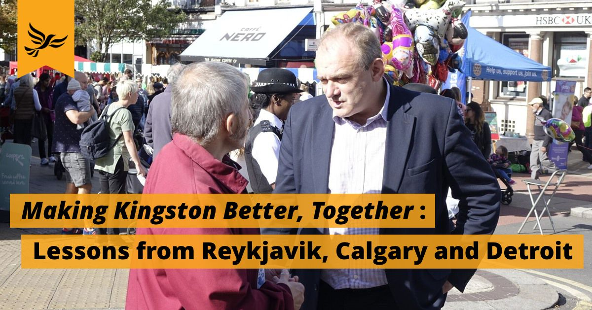 Making Kingston Better, Together: Lessons from Reykjavik, Calgary and Detroit