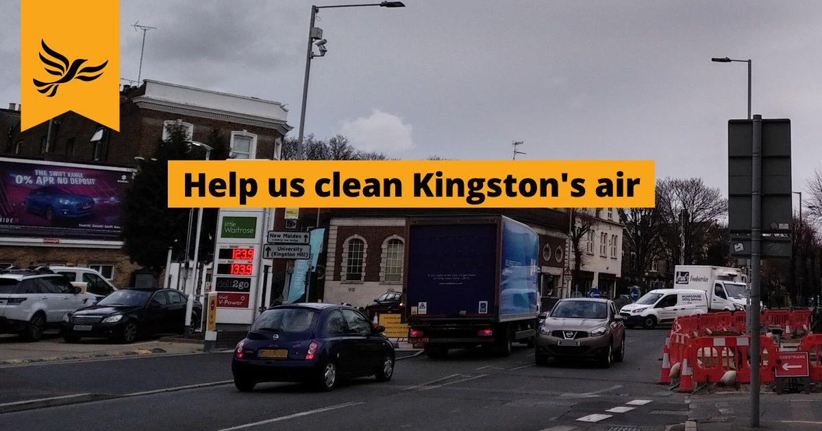 Lib Dems withdraw permit charge proposals, but fight goes on to clean Kingston's air