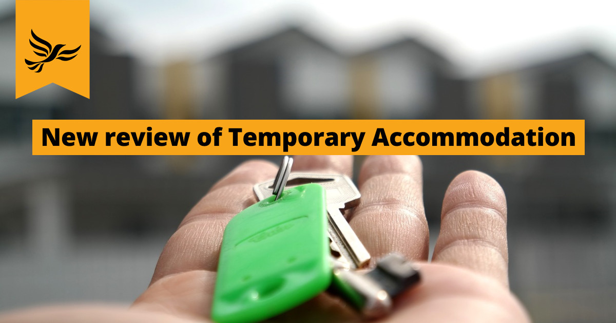 New review of Temporary Accommodation