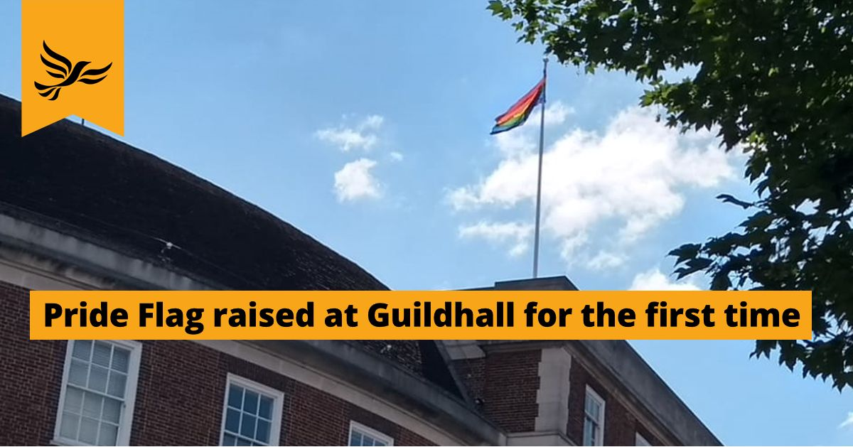 Lib Dem run Kingston Council to mark Pride in London