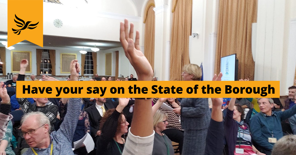 State of the Borough Debate 2019