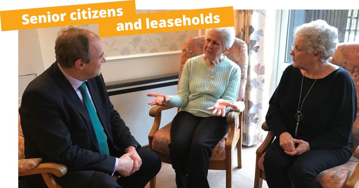 Senior citizens and leaseholds
