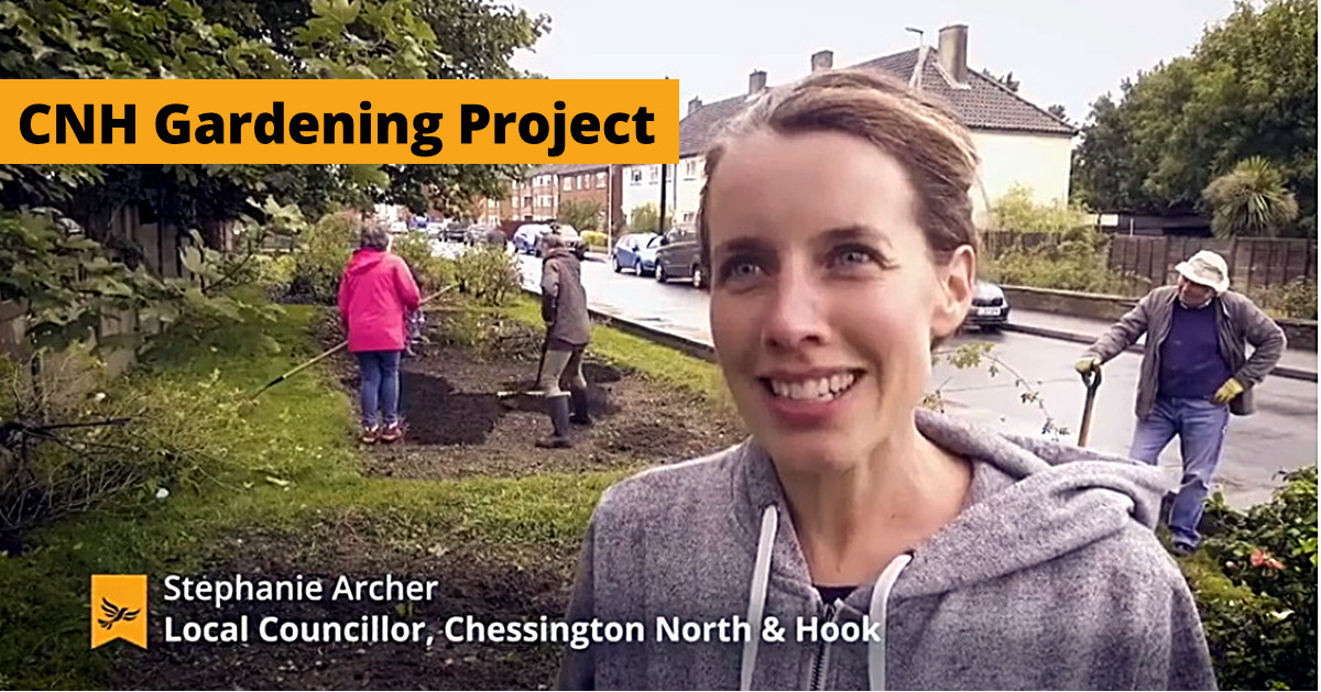 CNH gardening project