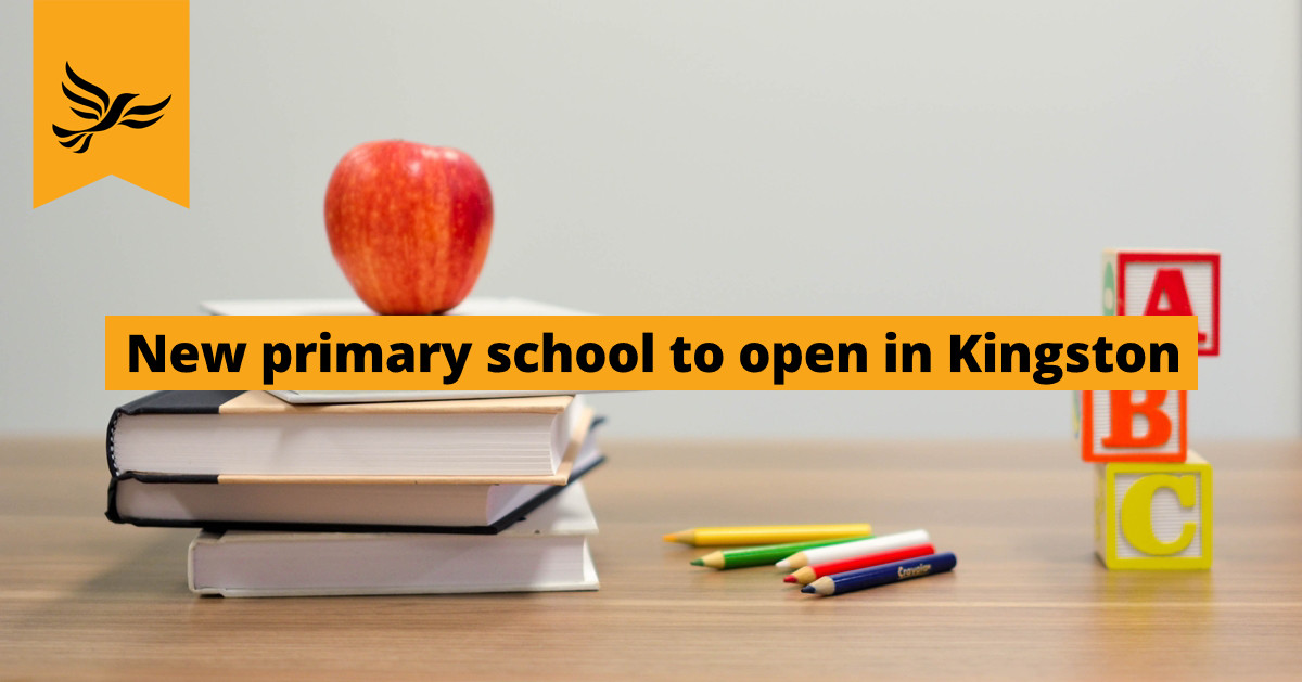 New primary school to open in Kingston