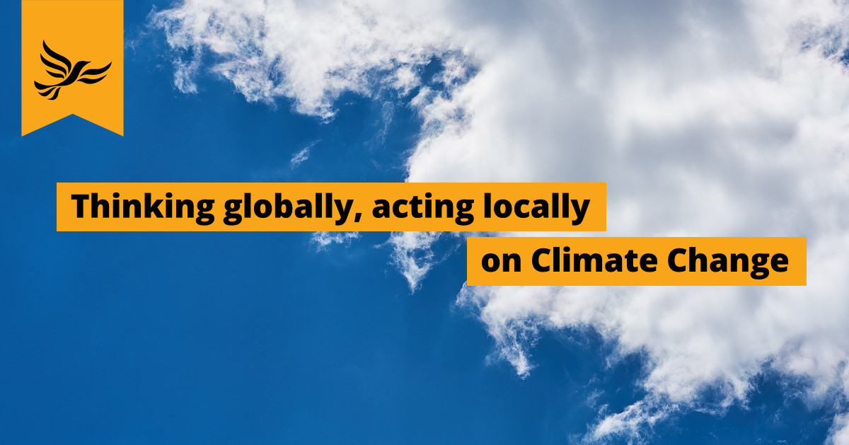 Kingston Liberal Democrats thinking globally, acting locally on Climate Change
