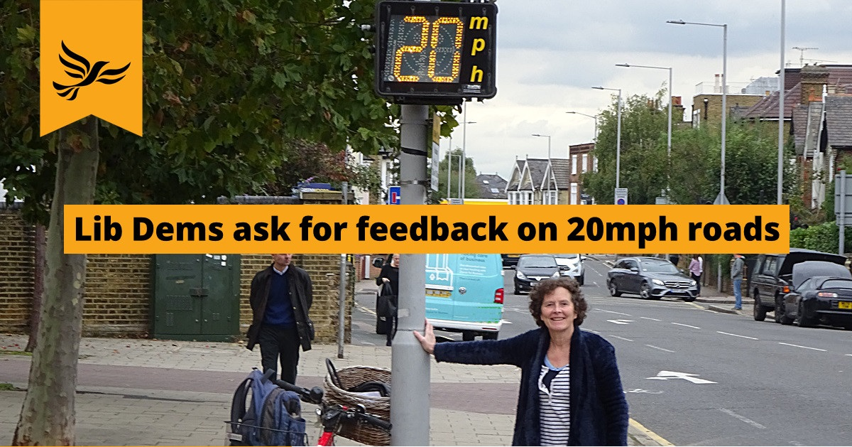 Feedback Welcomed on 20mph Speed Limit