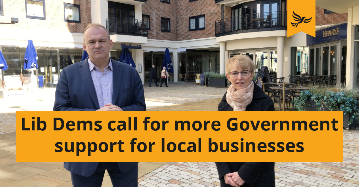 Call for more support for local businesses from the Government