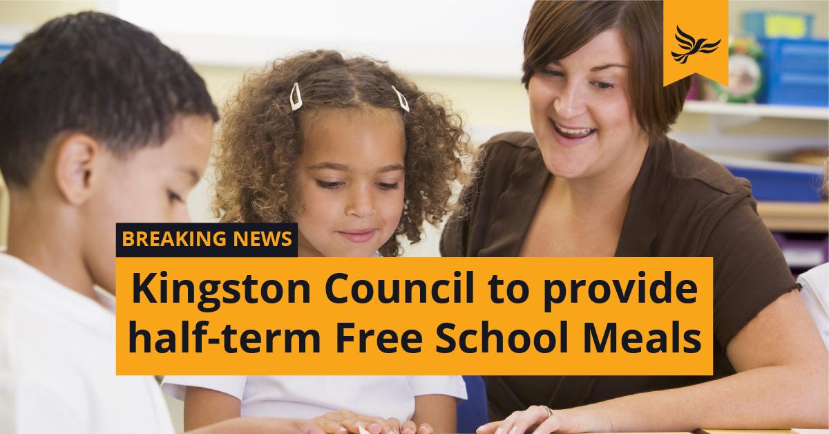 Lib Dem-run Kingston Council steps in to provide Free School Meals
