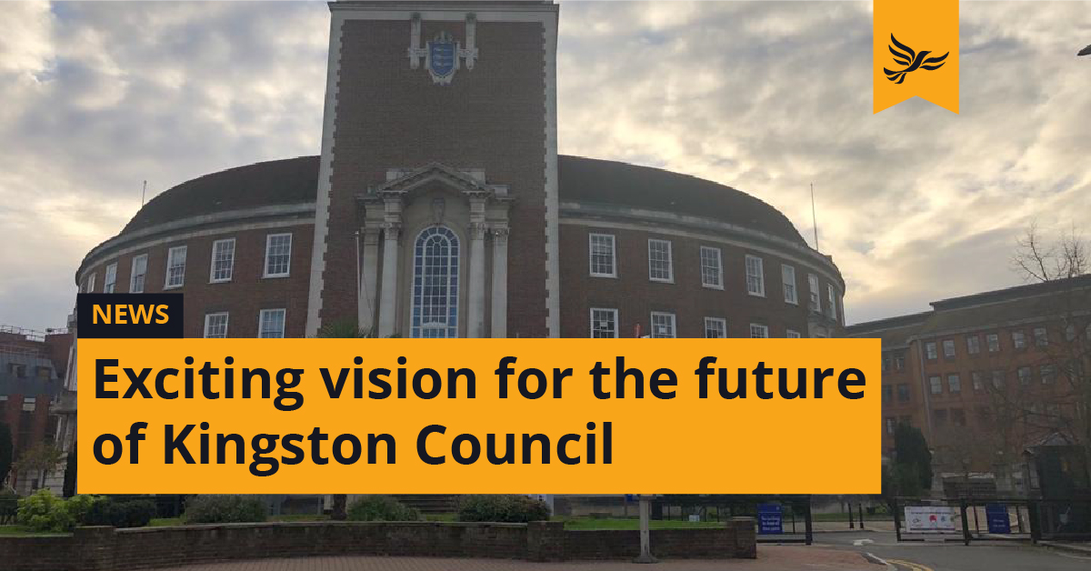 Exciting vision for the future of Kingston Council