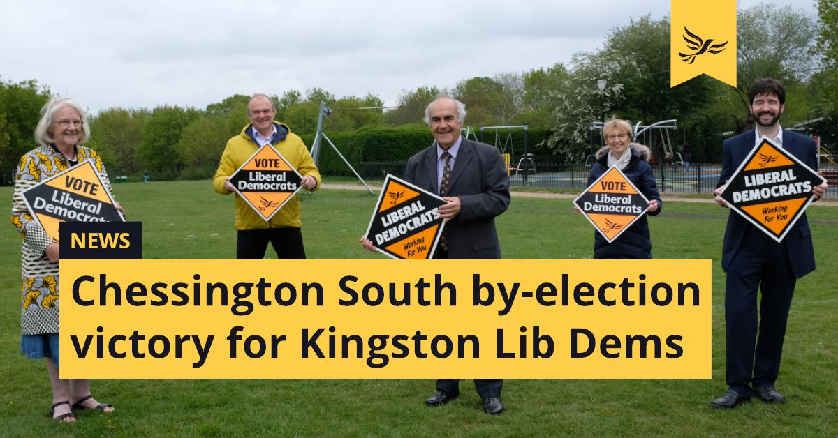 Kingston Lib Dems win Chessington South by-election