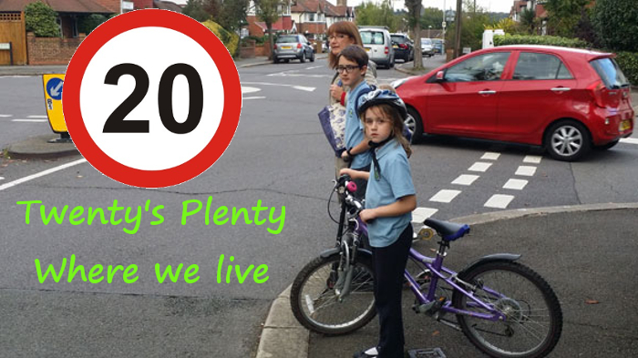 Surbiton 20mph - Pledge your support