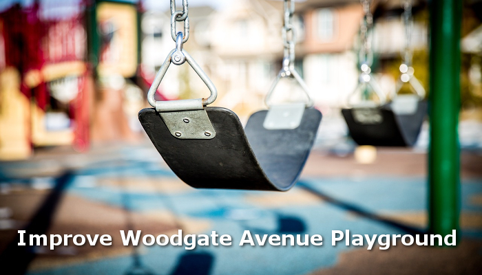 Improve Woodgate Avenue playground